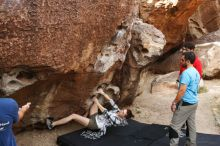 Bouldering in Hueco Tanks on 11/10/2019 with Blue Lizard Climbing and Yoga  Filename: SRM_20191110_1051460.jpg Aperture: f/5.6 Shutter Speed: 1/250 Body: Canon EOS-1D Mark II Lens: Canon EF 16-35mm f/2.8 L