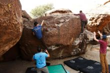 Bouldering in Hueco Tanks on 11/10/2019 with Blue Lizard Climbing and Yoga  Filename: SRM_20191110_1056280.jpg Aperture: f/5.6 Shutter Speed: 1/400 Body: Canon EOS-1D Mark II Lens: Canon EF 16-35mm f/2.8 L