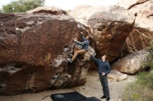Bouldering in Hueco Tanks on 11/16/2019 with Blue Lizard Climbing and Yoga  Filename: SRM_20191116_1012040.jpg Aperture: f/5.6 Shutter Speed: 1/500 Body: Canon EOS-1D Mark II Lens: Canon EF 16-35mm f/2.8 L