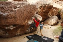 Bouldering in Hueco Tanks on 11/16/2019 with Blue Lizard Climbing and Yoga  Filename: SRM_20191116_1016450.jpg Aperture: f/5.6 Shutter Speed: 1/320 Body: Canon EOS-1D Mark II Lens: Canon EF 16-35mm f/2.8 L