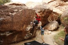 Bouldering in Hueco Tanks on 11/16/2019 with Blue Lizard Climbing and Yoga  Filename: SRM_20191116_1017000.jpg Aperture: f/5.6 Shutter Speed: 1/400 Body: Canon EOS-1D Mark II Lens: Canon EF 16-35mm f/2.8 L
