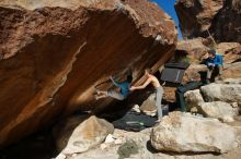 Bouldering in Hueco Tanks on 12/16/2019 with Blue Lizard Climbing and Yoga  Filename: SRM_20191216_1402340.jpg Aperture: f/9.0 Shutter Speed: 1/250 Body: Canon EOS-1D Mark II Lens: Canon EF 16-35mm f/2.8 L
