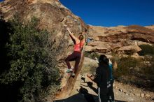 Bouldering in Hueco Tanks on 12/19/2019 with Blue Lizard Climbing and Yoga  Filename: SRM_20191219_1039130.jpg Aperture: f/7.1 Shutter Speed: 1/640 Body: Canon EOS-1D Mark II Lens: Canon EF 16-35mm f/2.8 L
