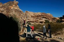 Bouldering in Hueco Tanks on 12/19/2019 with Blue Lizard Climbing and Yoga  Filename: SRM_20191219_1049310.jpg Aperture: f/7.1 Shutter Speed: 1/500 Body: Canon EOS-1D Mark II Lens: Canon EF 16-35mm f/2.8 L