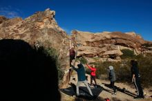 Bouldering in Hueco Tanks on 12/19/2019 with Blue Lizard Climbing and Yoga  Filename: SRM_20191219_1049400.jpg Aperture: f/7.1 Shutter Speed: 1/500 Body: Canon EOS-1D Mark II Lens: Canon EF 16-35mm f/2.8 L