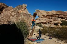 Bouldering in Hueco Tanks on 01/29/2020 with Blue Lizard Climbing and Yoga  Filename: SRM_20200129_1113480.jpg Aperture: f/9.0 Shutter Speed: 1/400 Body: Canon EOS-1D Mark II Lens: Canon EF 16-35mm f/2.8 L