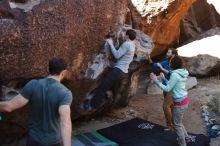 Bouldering in Hueco Tanks on 02/16/2020 with Blue Lizard Climbing and Yoga  Filename: SRM_20200216_1033160.jpg Aperture: f/5.6 Shutter Speed: 1/250 Body: Canon EOS-1D Mark II Lens: Canon EF 16-35mm f/2.8 L