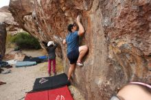 Bouldering in Hueco Tanks on 03/10/2018 with Blue Lizard Climbing and Yoga