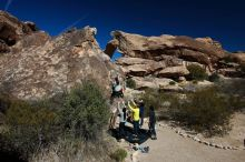 Bouldering in Hueco Tanks on 03/09/2019 with Blue Lizard Climbing and Yoga  Filename: SRM_20190309_1053110.jpg Aperture: f/5.6 Shutter Speed: 1/640 Body: Canon EOS-1D Mark II Lens: Canon EF 16-35mm f/2.8 L